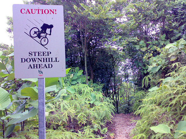 Kent Mountain Bike Trail