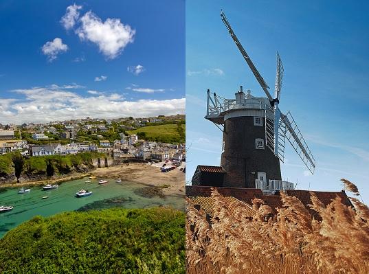 Norfolk & Cornwall