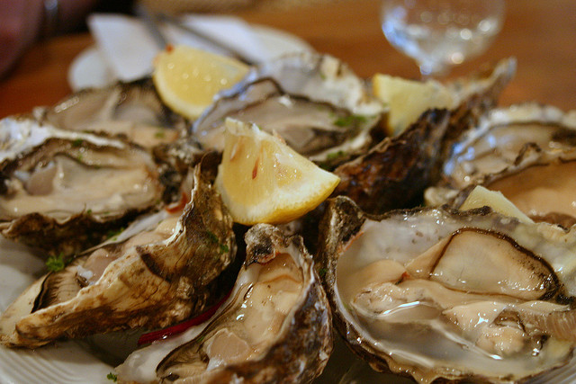 Oysters at Galway Seafood Festival