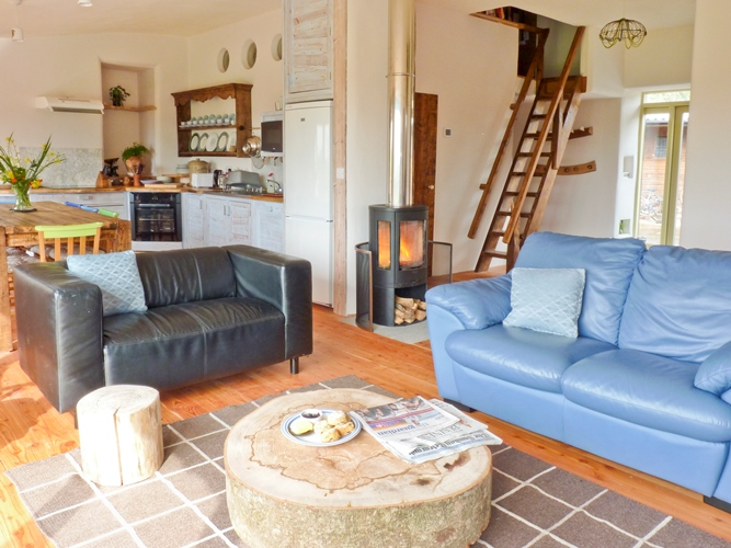 Eco-friendly holiday cottage in Devon