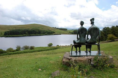 Glenkiln Sculpture Park in Dumfries