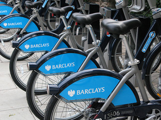 London Barclays Hire Scheme Bikes