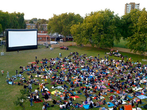 Secret Cinema in London Fields