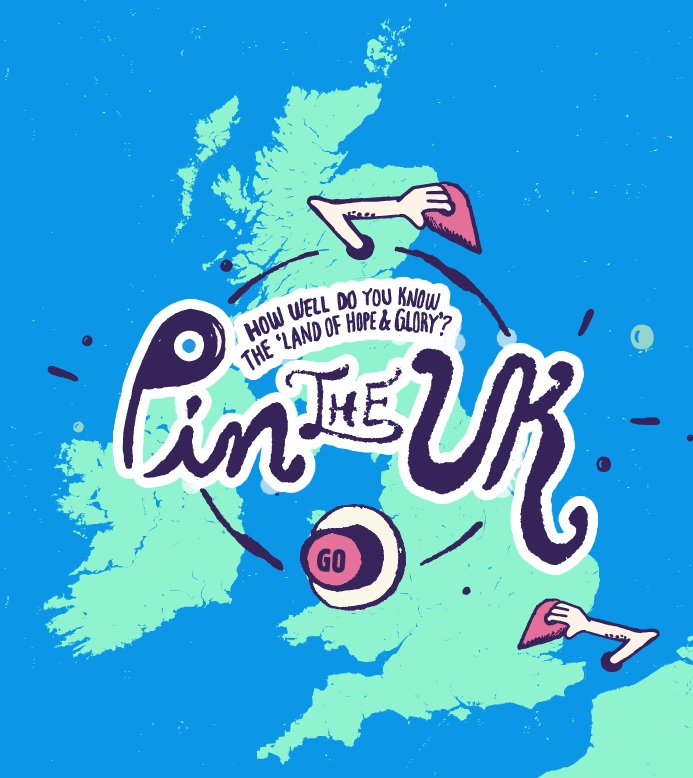 Pin the UK