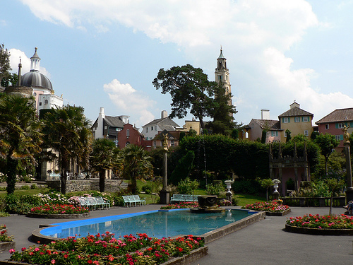 Image of Portmeirion in Wales