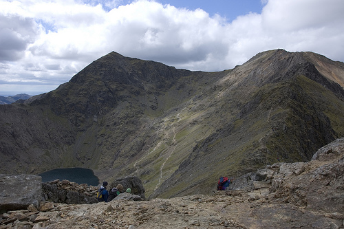 Photo from the top of Snowdon