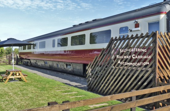 Converted Railway Carriage Self Catering Accommodation Near Whitby