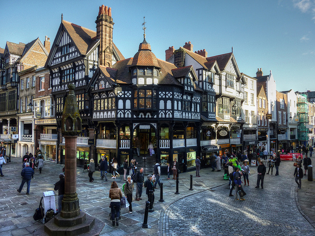 Historic City of Chester picture via Flickr.