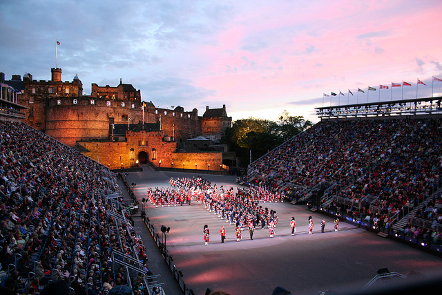 Edinburgh Military Tattoo, picture via Flickr.
