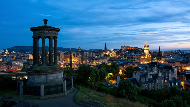 Edinburgh, picture via Flickr.