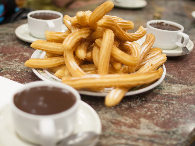 Churros at a food festival