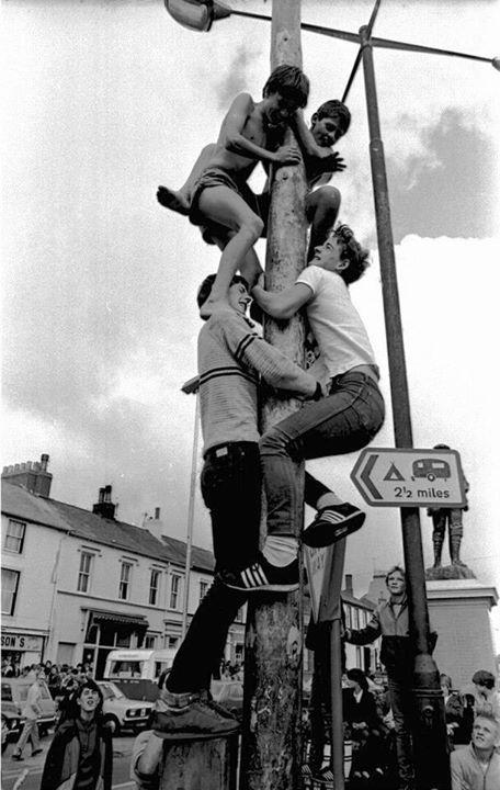 raising of the pole