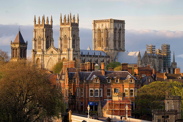 Image of York Minster via Flickr.