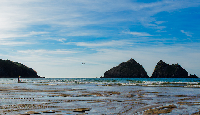 Holywell Bay - image via Flickr.