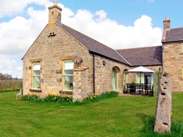 Holiday cottage in Northumbria