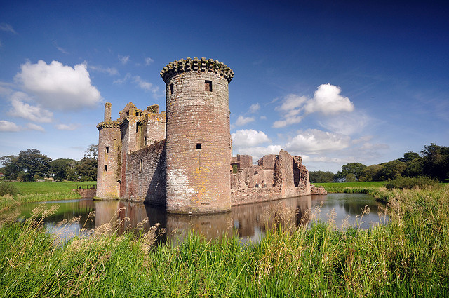 Caerlaverock Castle – Via Flickr