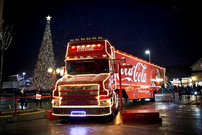 Cheshire Oaks Christmas Tree
