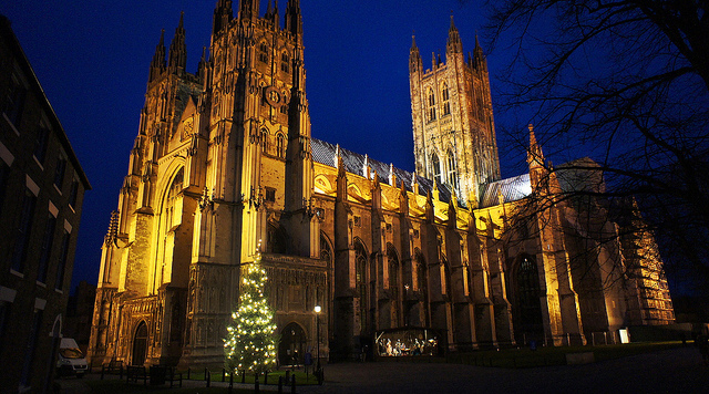 Christmas at Canterbury Cathedral – Via Flickr