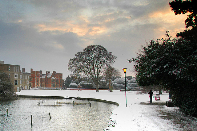 Christmas snow in York – Via Flickr