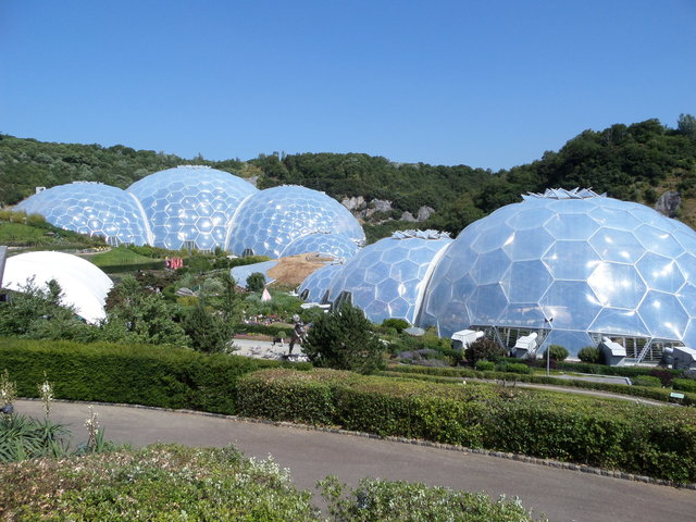 Image of the Eden Project taken by Holly.