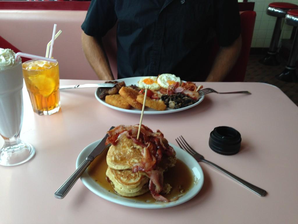 Breakfast diner Cornwall
