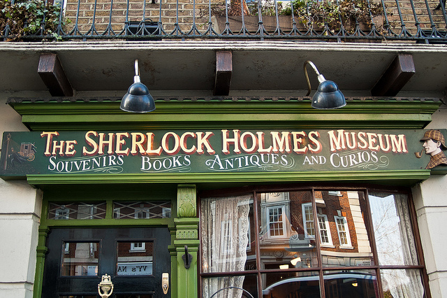 221b Sherlock Holmes Museum | by Douglas Neiner | CC BY