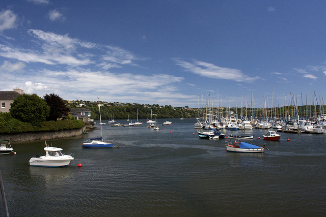 Boats on Kinsale Coast, Ireland