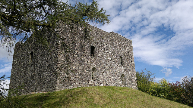 Lydford Castle by TempusVolat is licensed under CC 2.0