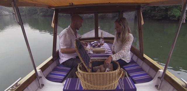 Fowey Picnic Boat