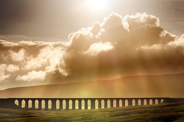 Ribblehead Viaduct by Chantrybee is licensed by CC 2.0