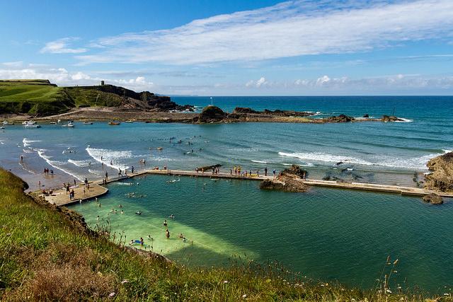Sea Pool, Bude by Lee is licensed under CC 2.0