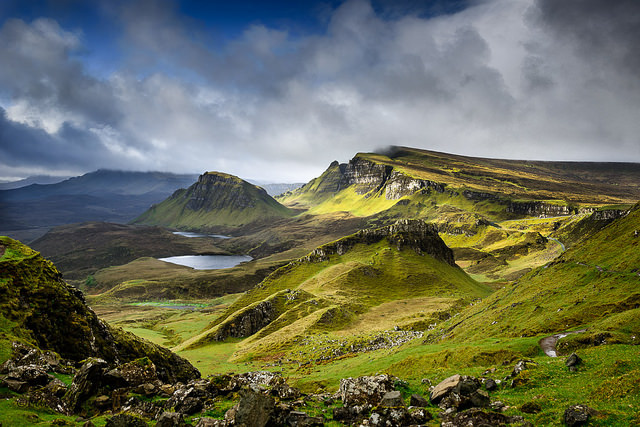 Blue is coming in Quiraing by LA Photography is licensed under CC 2.0