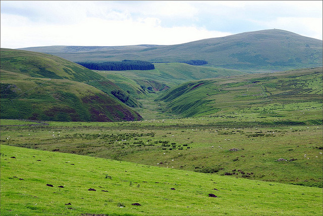 Northumberland National Park by Howard Stanbury is licensed under CC 2.0