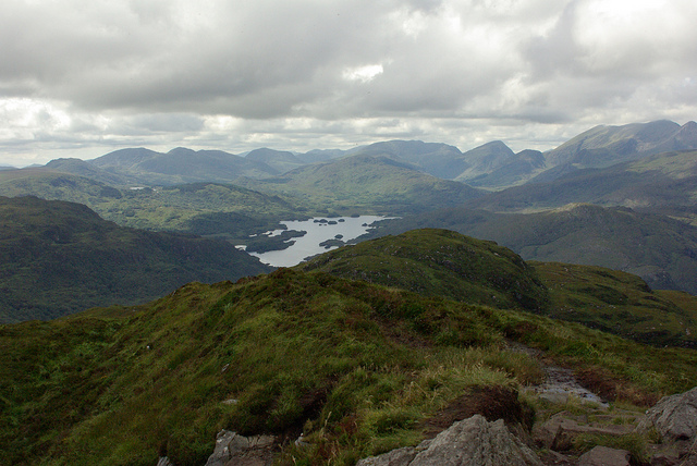 View from Torc Mountain by sandyraidy is licensed under CC 2.0
