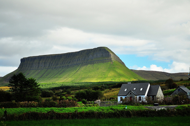 Benbulben by Arbo Moosberg is licensed under CC 2.0