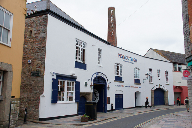 Plymouth Gin Distillery by Chris Sampson / CC BY 2.0