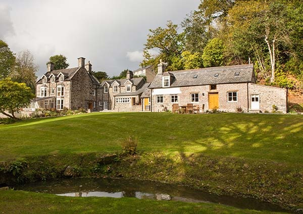 Tan Llan near Dolgellau in Wales, one of Sykes' own cottages
