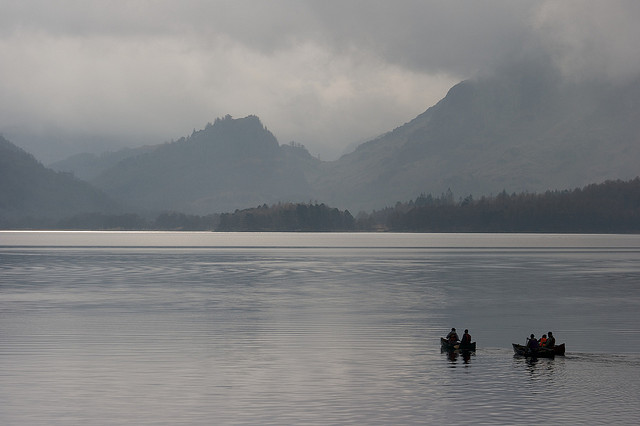"""Canoes and Borrowdale"" by Pete Birkenshaw / CC BY 2.0"