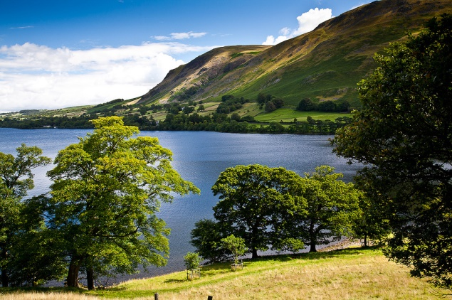 Ullswater in Lake District