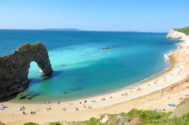 Durdle Door in Dorset, Jurassic Coast