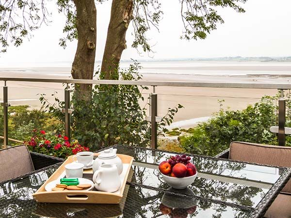Spectacular views across the bay from Solway Cottages (Reference 911744) in Bowness-on-Solway.