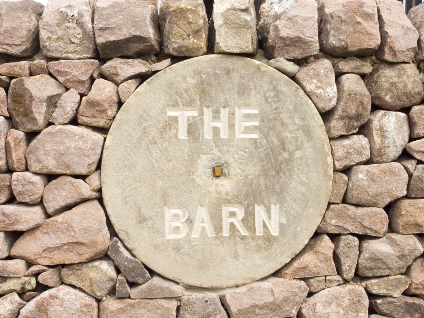 Entrance to The Barn (Ref. 2079).
