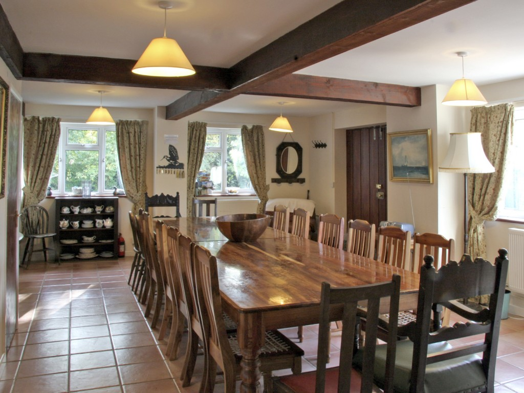 The dinning area at Whytings (Ref. 2581) is perfect for entertaining.