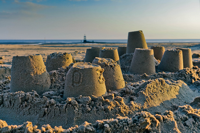 """Castles in the Sand"" by Beverley Goodwin / CC BY 2.0"