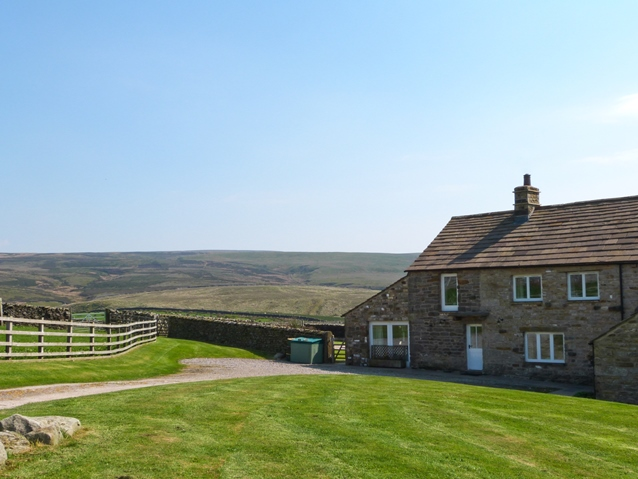 Isolated cottage in Yorkshire