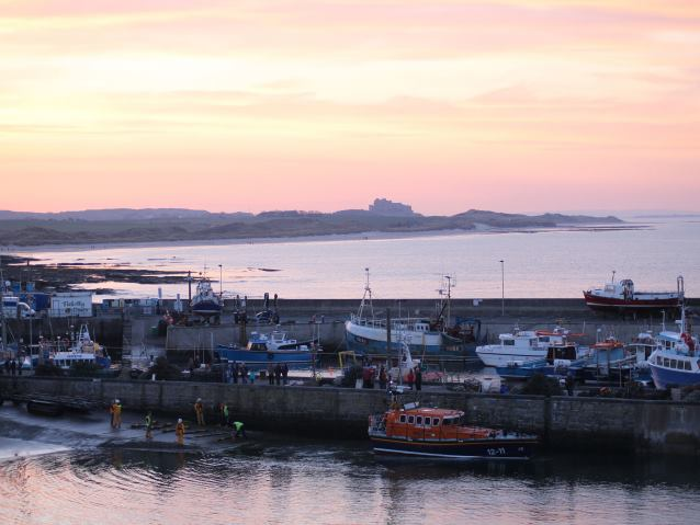 Seahouses Northumberland coast