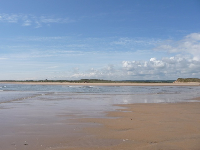 Beadnell Bay Northumberland coast