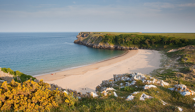 Barafundle Beach - Pembrokeshire by David Evans | CC 2.0