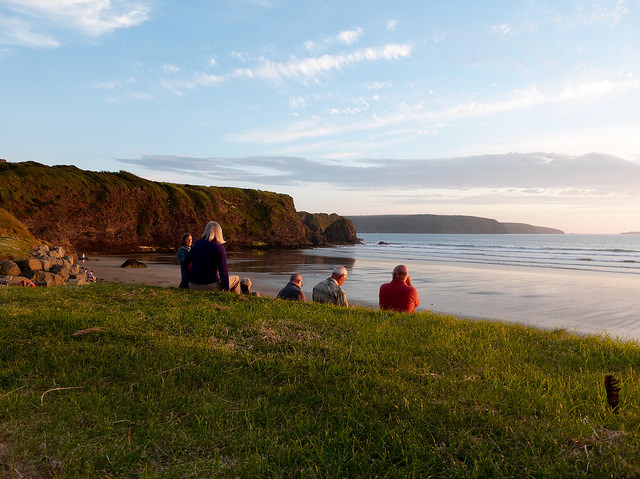 Evening at Broadhaven by Claire Cox | CC 2.0