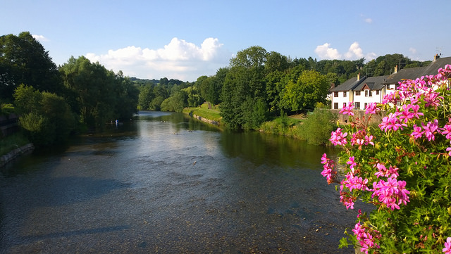 The Usk at Usk by Ben Salter | CC 2.0